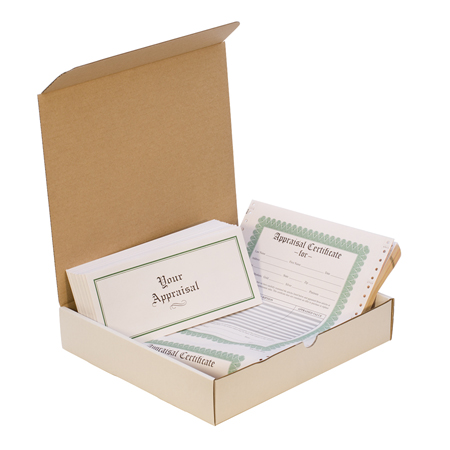 APPRAISAL FORM PACK- 50EA ENVELOPE AND FORM