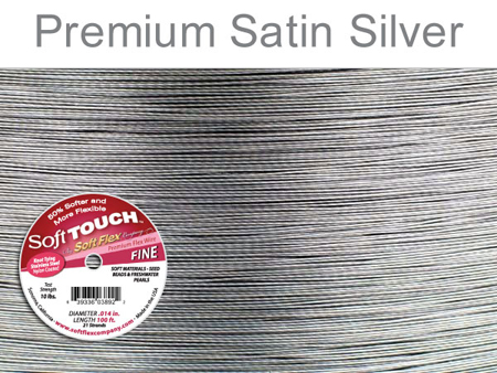SOFT FLEX SOFT TOUCH WIRE - CLEAR, .014, 100FT