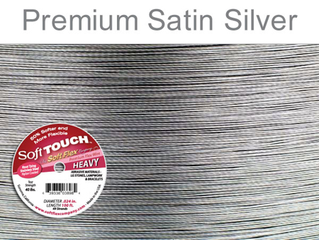 SOFT FLEX SOFT TOUCH WIRE - CLEAR, .024, 100FT