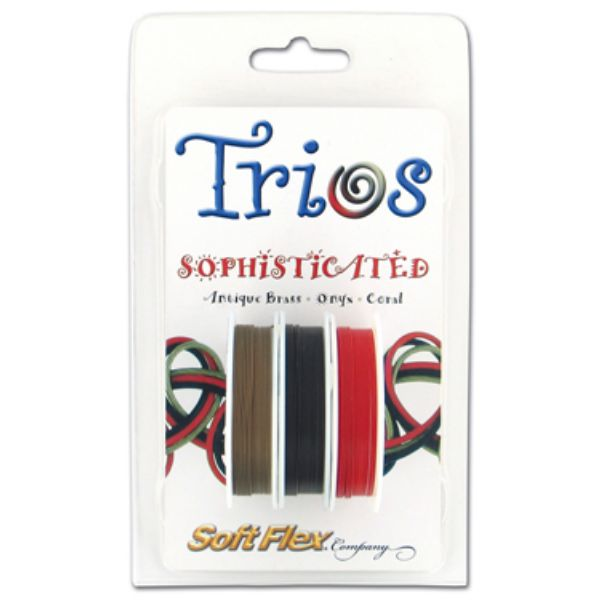SOFT FLEX TRIO- SOPHISTICATED .019