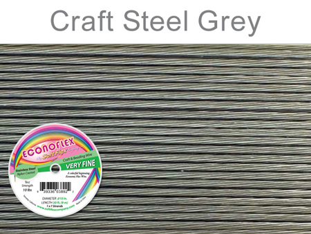 SOFT FLEX ECONOFLEX - STEEL GREY, .010