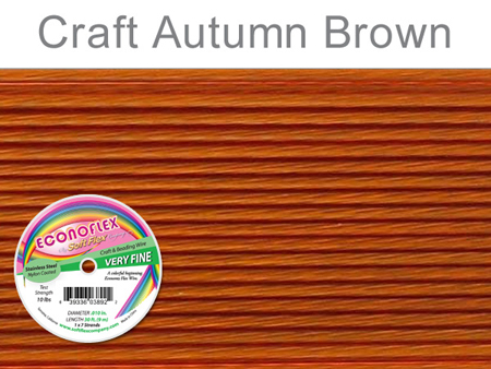SOFT FLEX ECONOFLEX - AUTUMN BROWN, .010