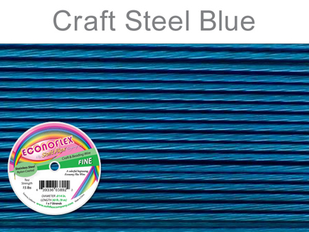 SOFT FLEX ECONOFLEX - STEEL BLUE, .014