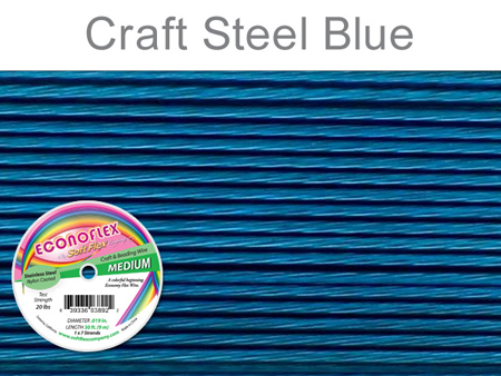 SOFT FLEX ECONOFLEX - STEEL BLUE, .019