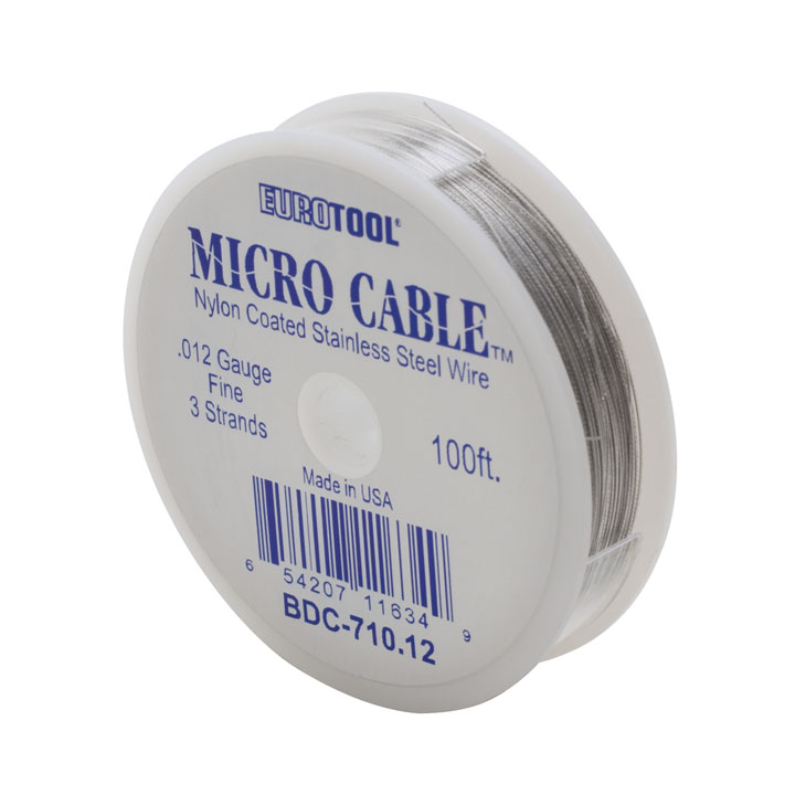 MICRO CABLE - .012, 100FT