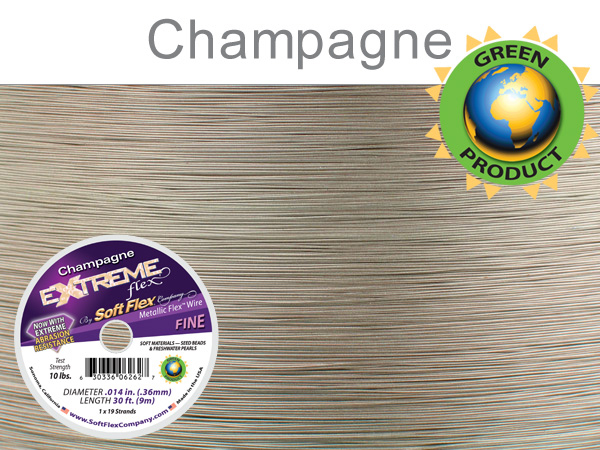 SOFT FLEX EXTREME .014 DIAMETER, 30 FT, CHAMPAGNE
