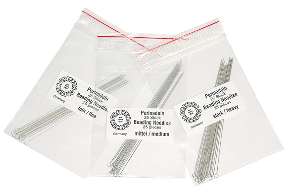 BEAD NEEDLE FINE- 25PC