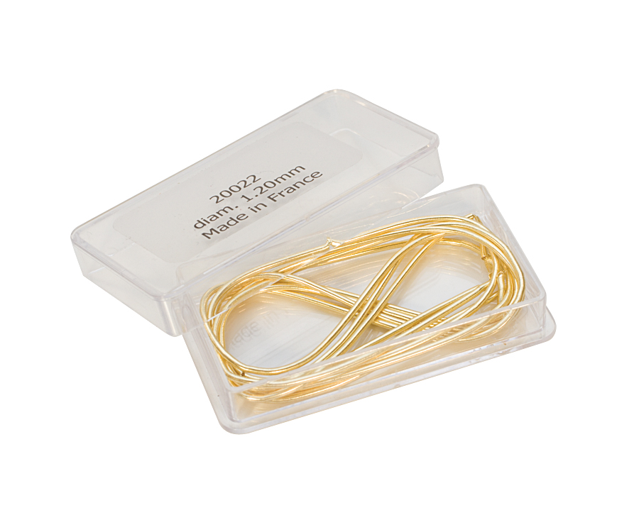 FRENCHWIRE GOLD- 1.00MM - 1METER