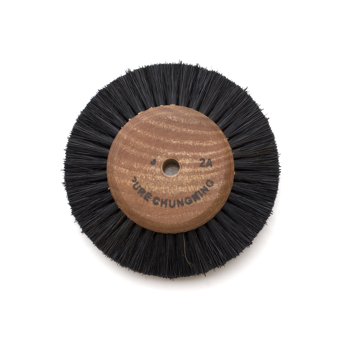 WOOD HUB BRUSH 2A - 2 ROW, 3-1/8