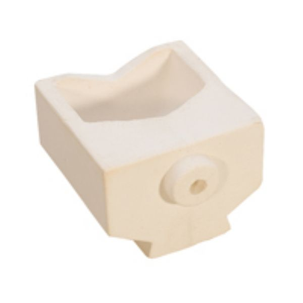 CERAMIC CRUCIBLE - 1.3 KG