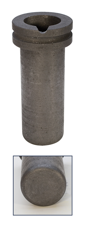 GRAPHITE CRUCIBLE-1KG  ELECTRIC FURNACE