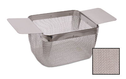 CLEANING BASKET - MEDIUM W/ EXTRA-FINE MESH