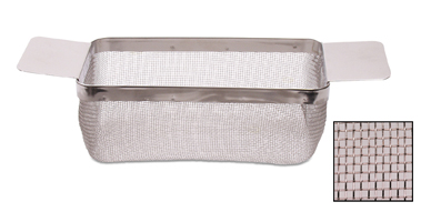 CLEANING BASKET - LARGE, FINE MESH