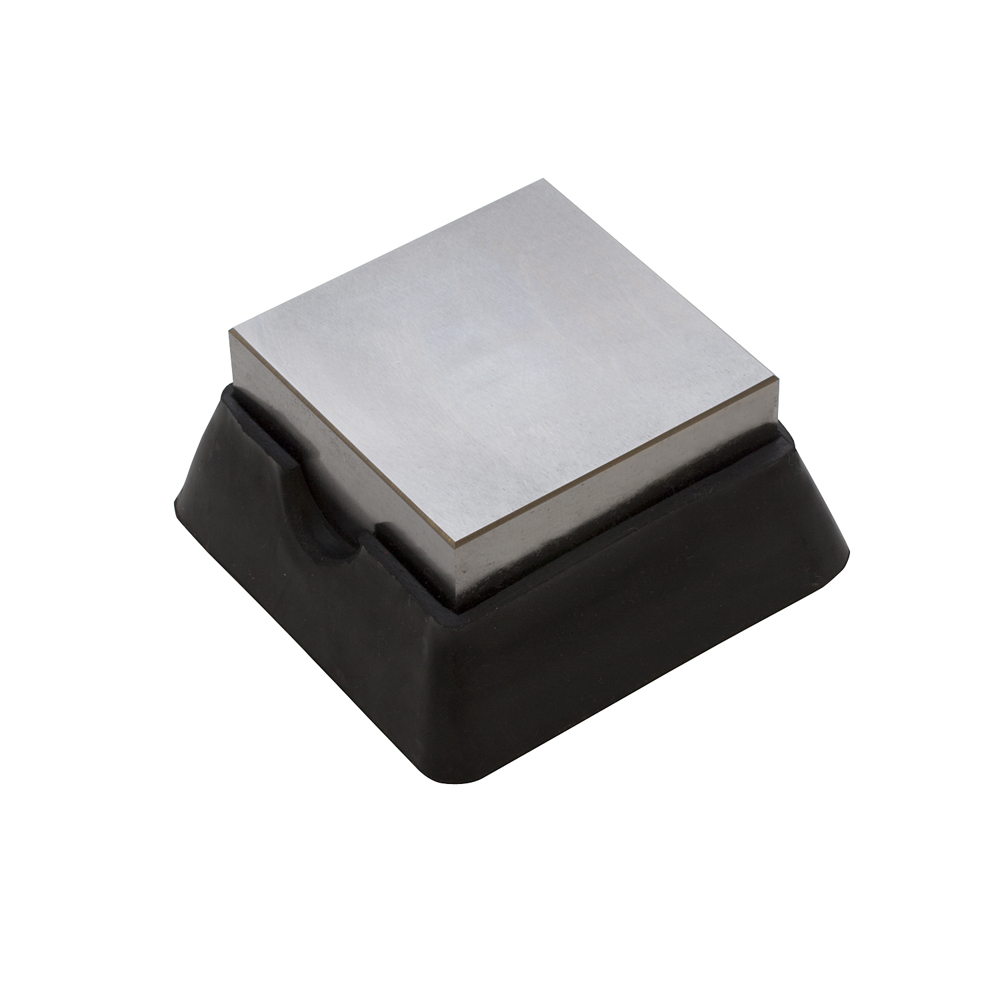 BENCH BLOCK-STEEL AND RUBBER-2-1/2