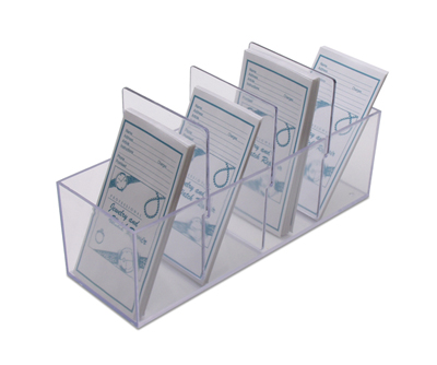 PLASTIC ENVELOPE HOLDER