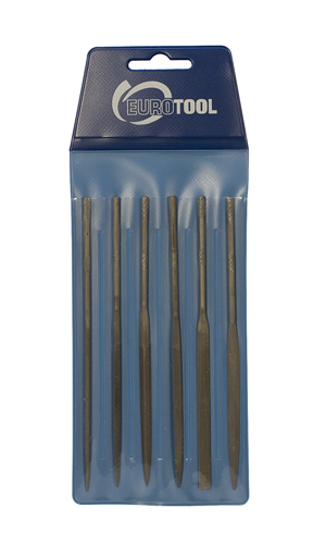 NEEDLE FILE SET, CUT 0, 5 -1/2