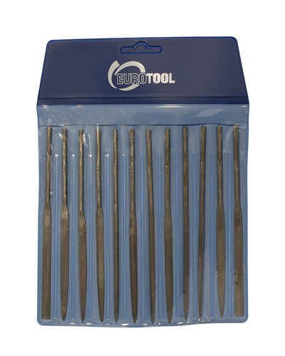 NEEDLE FILE SET, CUT 0 - 12PC