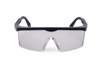 SAFETY GLASSES - BLUE FRAME