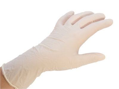 LATEX GLOVES-MEDIUM (BOX OF 100)