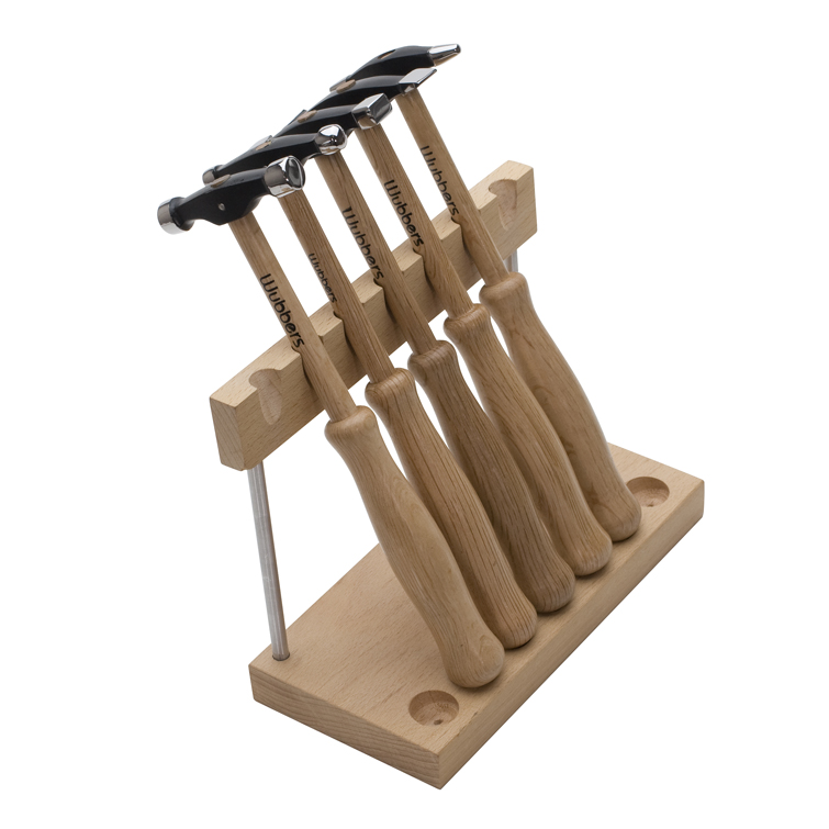 ARTISAN'S MARK 5PC HAMMER SET with STAND