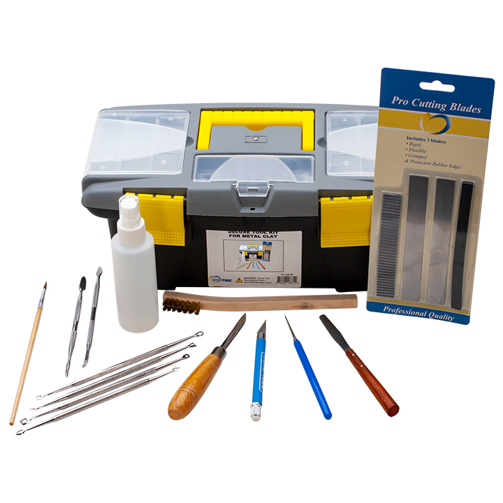 DELUXE TOOL KIT FOR METAL CLAY-12 pc.