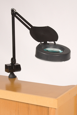 MAGNIFIER LAMP / BLACK