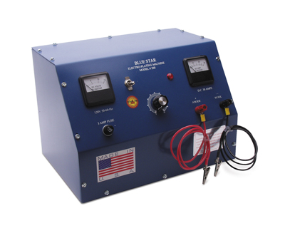 BLUE STAR ELECTROPLATER - 30AMP