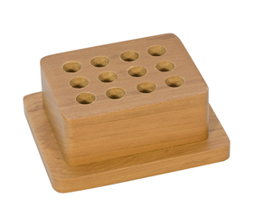 12 HOLE PREMIUM WOOD PUNCH STAND