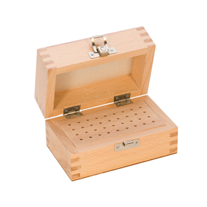 36 HOLE WOOD BUR BOX