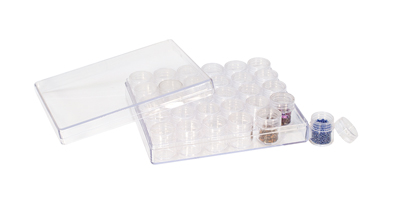 PLASTIC STORAGE CONTAINERS - 30 in 1
