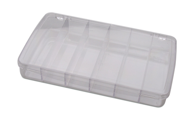 6 COMPARTMENT BOX W/LID 11
