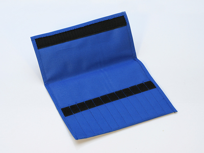CANVAS FILE POUCH - 12 COMPARTMENT