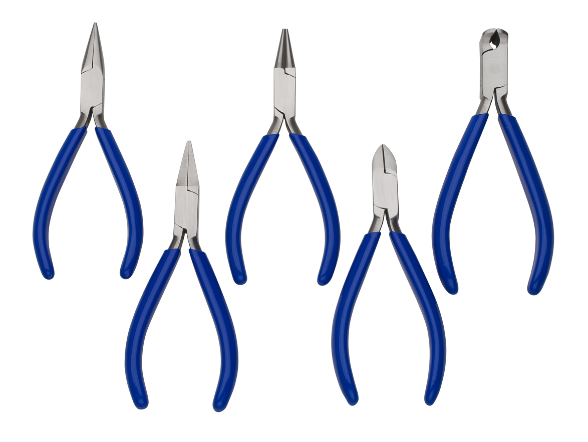 PLIER SET - ECONOMY, 5PC