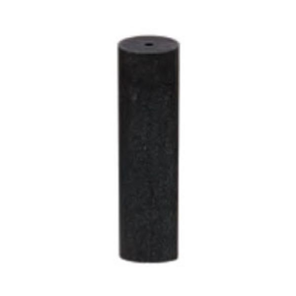 SILICONE POLISHERS UNMOUNTED - MEDIUM (BLACK) CYLINDER, PK/12