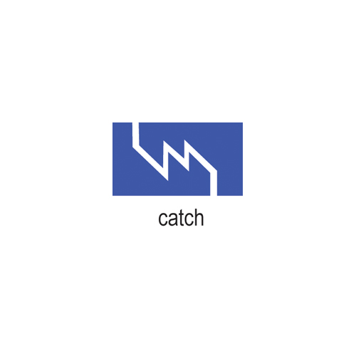 COWDERY CATCH, 6MM X 3MM (D X H)