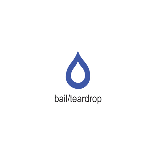 COWDERY BAIL/TEARDROP, 4.5MM X 3MM
