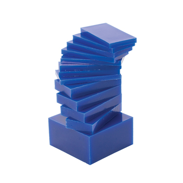 CARVING BLOCKS BLUE (MEDIUM-HARD) 1-LB SLICED