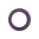 WAX RING TUBE PURPLE-SM RD CTR HOLE (T-875)