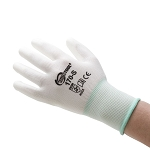 POLYURETHANE PALM COATED GLOVES - S - 12 PAIR