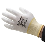 POLYURETHANE PALM COATED GLOVES - M - 12 PAIR