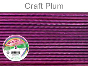 SOFT FLEX ECONOFLEX - PLUM, .014 DIA