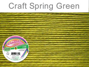 SOFT FLEX ECONOFLEX - SPRING GREEN, .014