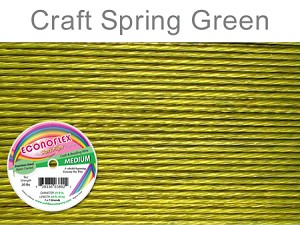 SOFT FLEX ECONOFLEX - SPRING GREEN, .019
