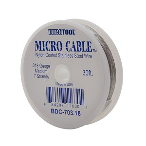 MICRO CABLE - .018, 30FT