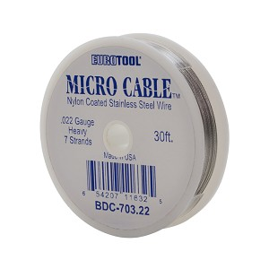 MICRO CABLE - .022, 30FT