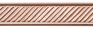 SLANT WITH BORDER COPPER PATTER WIRE, 3FT