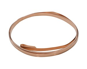 COPPER BEZEL WIRE - 32 GA - 10FT